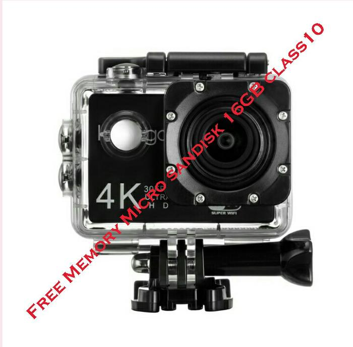 Kogan Action Camera 4K Ultra HD Terlaris di Lazada