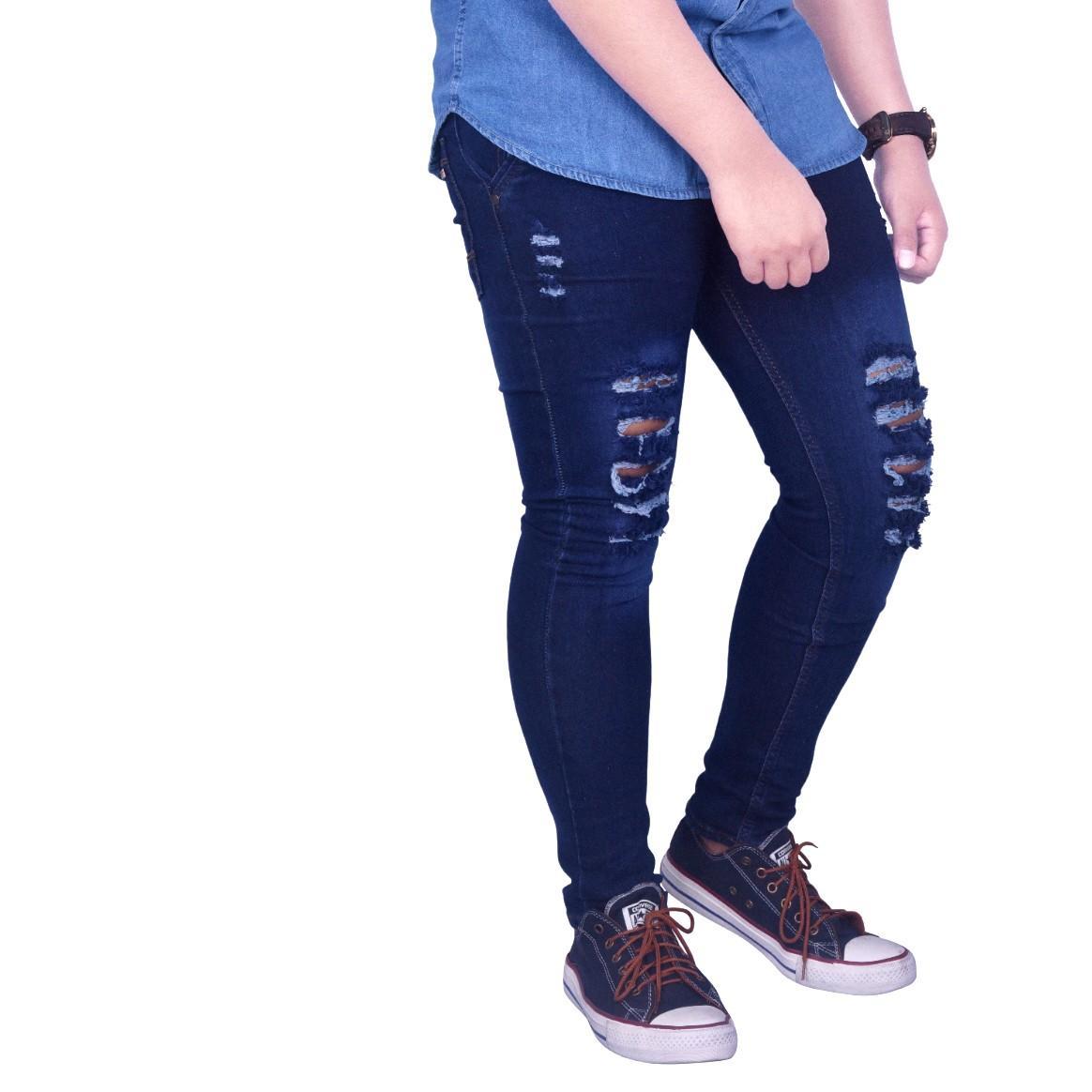 Dgm_Fashion1 Celana Jeans Sobek Panjang Denim /Celana lepis/Celana Jeans Skinny Pria/Celana Panjang/ Celana Pria/Celana Casual/celana denim/celana jeans hitam/jeans polos /CELANA JEANS PENSIL JS 5832 5612