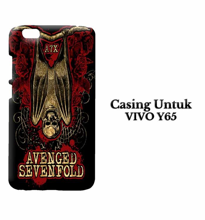 Casing Vivo Y65 Avenged Sevenfold A7X Custom Hard Case Cover