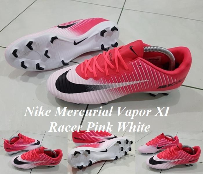 SEPATU BOLA Nike Mercurial Vapor XI FG - Racer Pink White