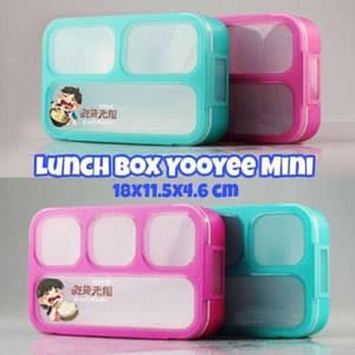 Bayar Di Tempat / Yooyee Mini 3 Sekat Grid Bento Lunch Box Anti Tumpah Tempat Makan https://ecs7.tokopedia.net/img/cache/700/product-1/2018/6/20/482184/482184_160442b4-af4b-4f42-9755-54ac54d39864_300_300.jpg Pcs