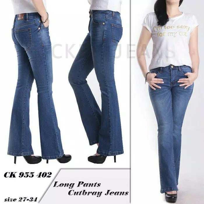 [GARANSI UANG KEMBALI JIKA BAHAN JELEK] Cutbray Jeans So Slim So Stylish ! / celana jeans / jeans cutbray / celana jeans wanita / celana wanita / celana jeans berkualitas / sio store