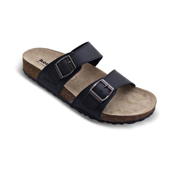 HOMYPED SIERRA 01 Sandal Casual Pria Black