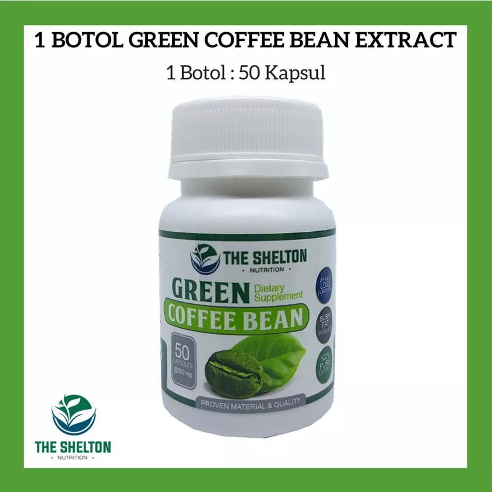 1 Botol Green Coffee Bean Extract / Kopi Hijau Extract Untuk Diet Pelangsing ( Premium Quality )