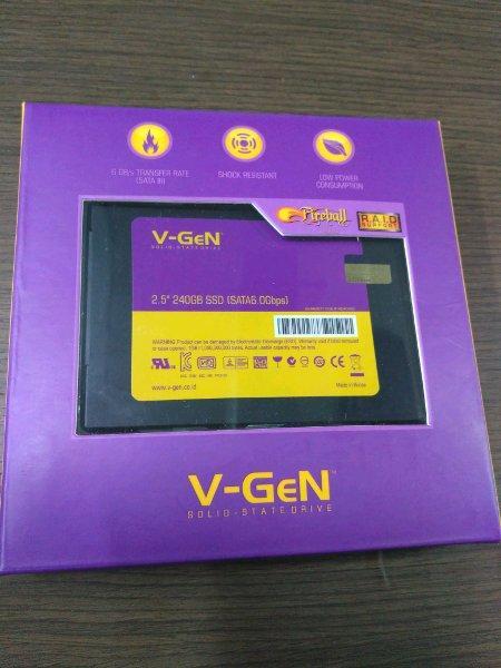 V-GeN 2.5 inch 240GB SSD SATA6.0Gbps