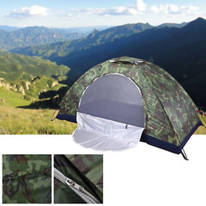 Best Seller!! Tenda - 12 Person Folding Tent Outdoor Festival Camping Hiking Waterp - ready stock