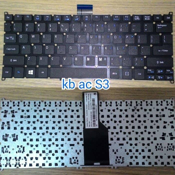 Keyboard Acer S3Aspie One 756 S3 725 V5 121