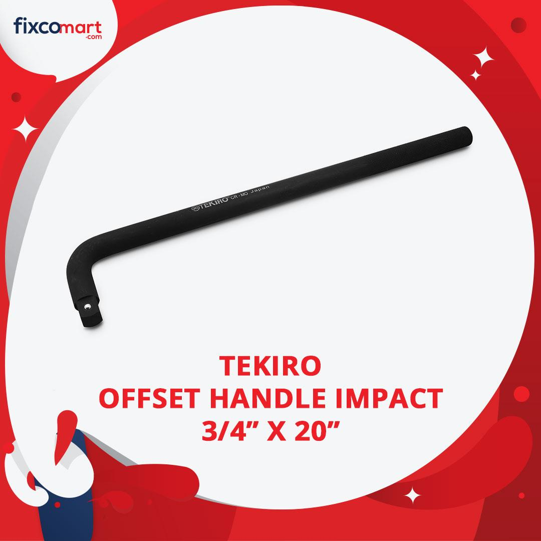 Tekiro Offset Handle Impact 3/4 X 20 Inch / Tekiro Gagang Sock L Impact