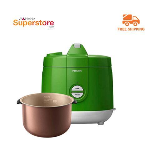 Philips Rice Cooker - HD3129/30 Premium - Green