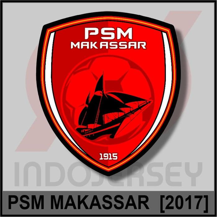 Best Top Seller!! Patch Badge Flock Liga Indonesia - Psm Makassar 2017 - ready stock