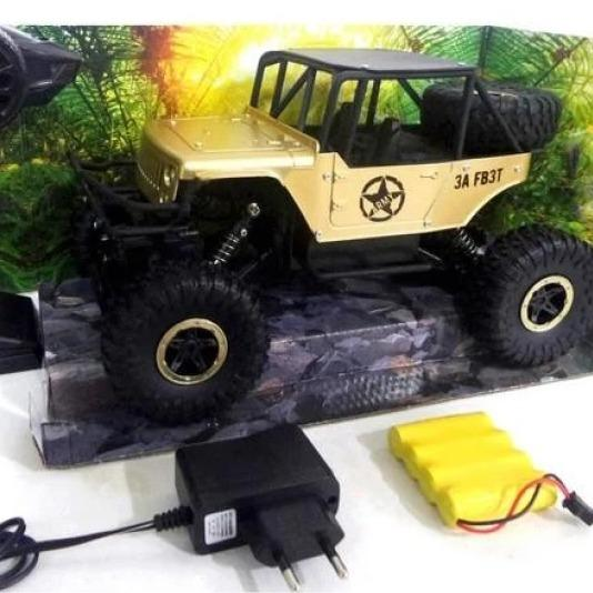 Mobil Remote Control Super Climbing - Jeep Off Road RC