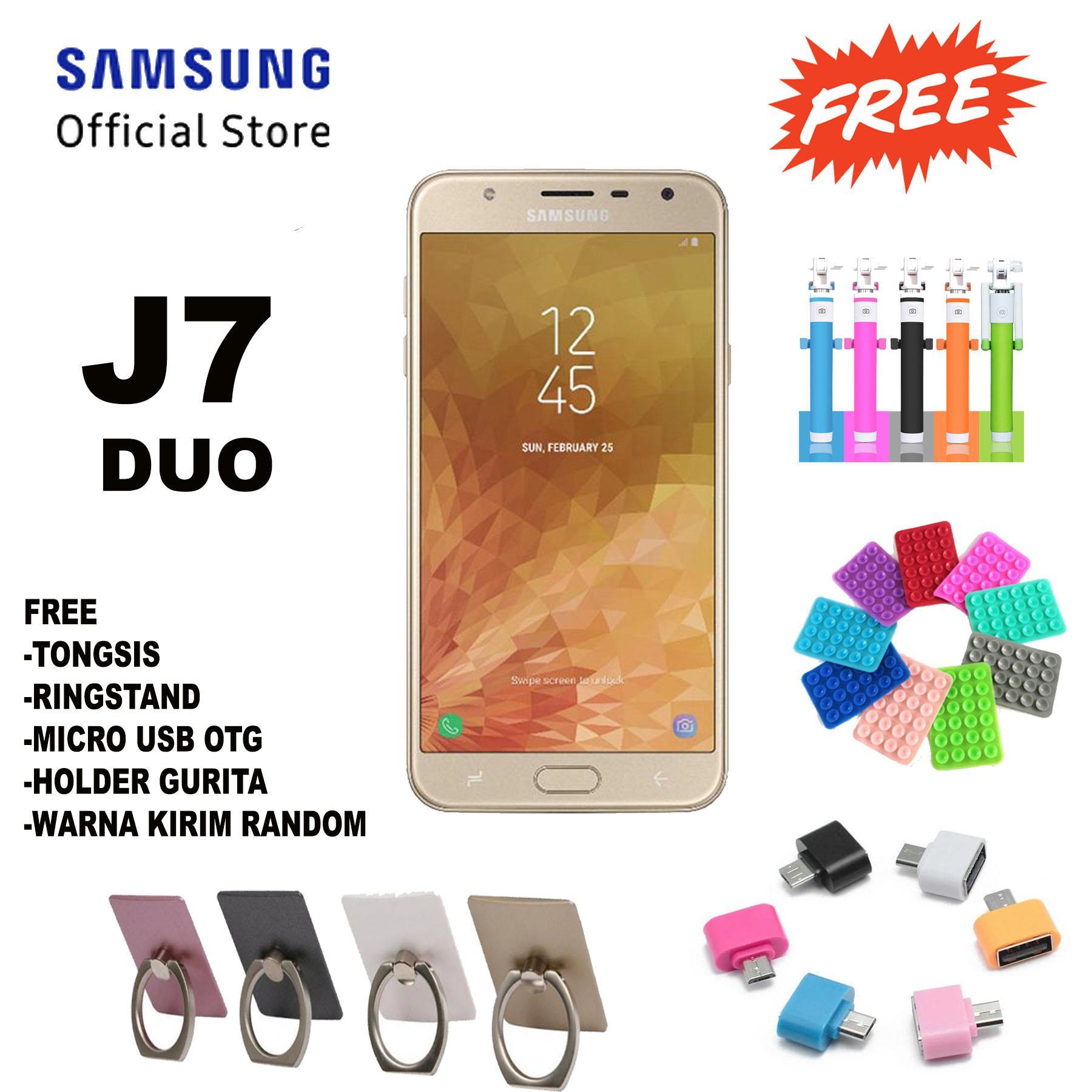 Samsung Galaxy J7 Duo - J720 - 3/32GB - Android 8.0 (Oreo) - Garansi Resmi