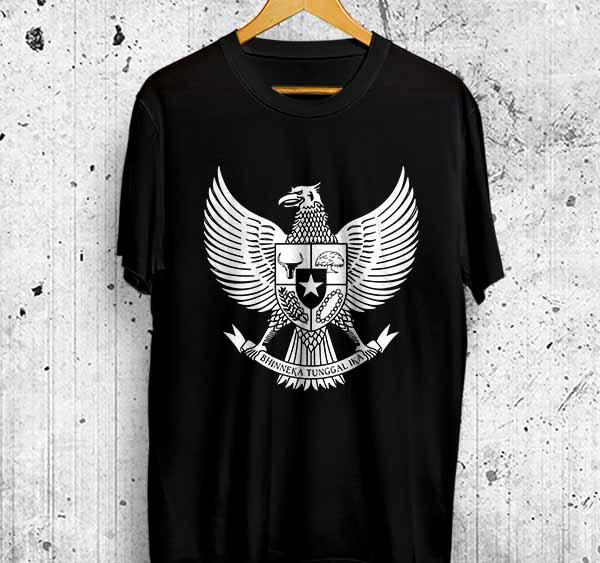 Kaos Distro GARUDA INDONESIA Bhinneka Tunggal Ika Baju Tshirt Kualitas Premium