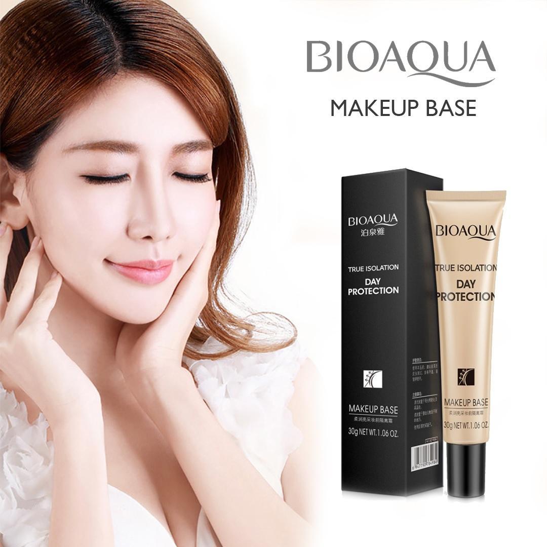 Bb Cc Cream Murah Berkualitas Tanpa Refill Bioaqua Exquisite And Delicate True Isolation Make Up Base Primer Krim Dasar Sebelum