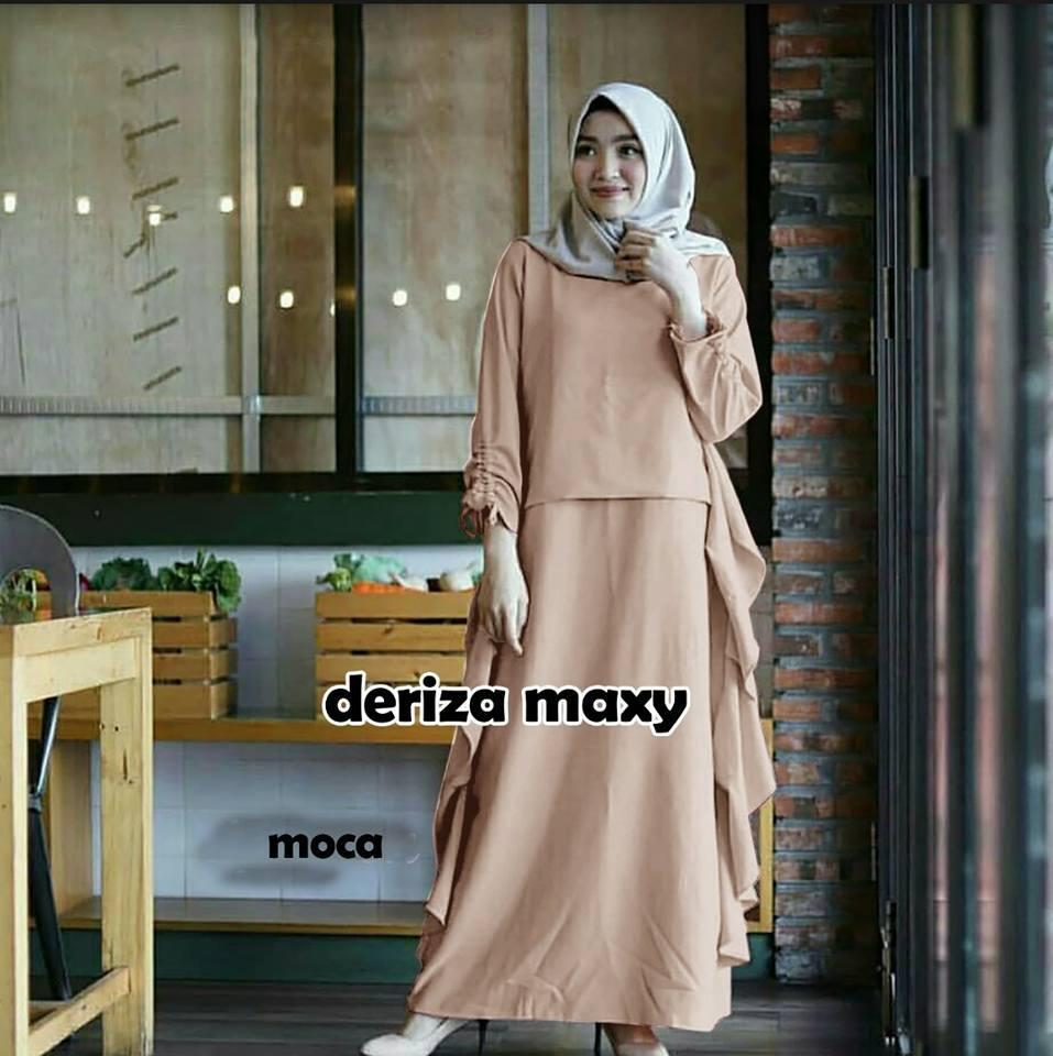Baju muslim, gamis syari, dress wanita muslim ge_fashion