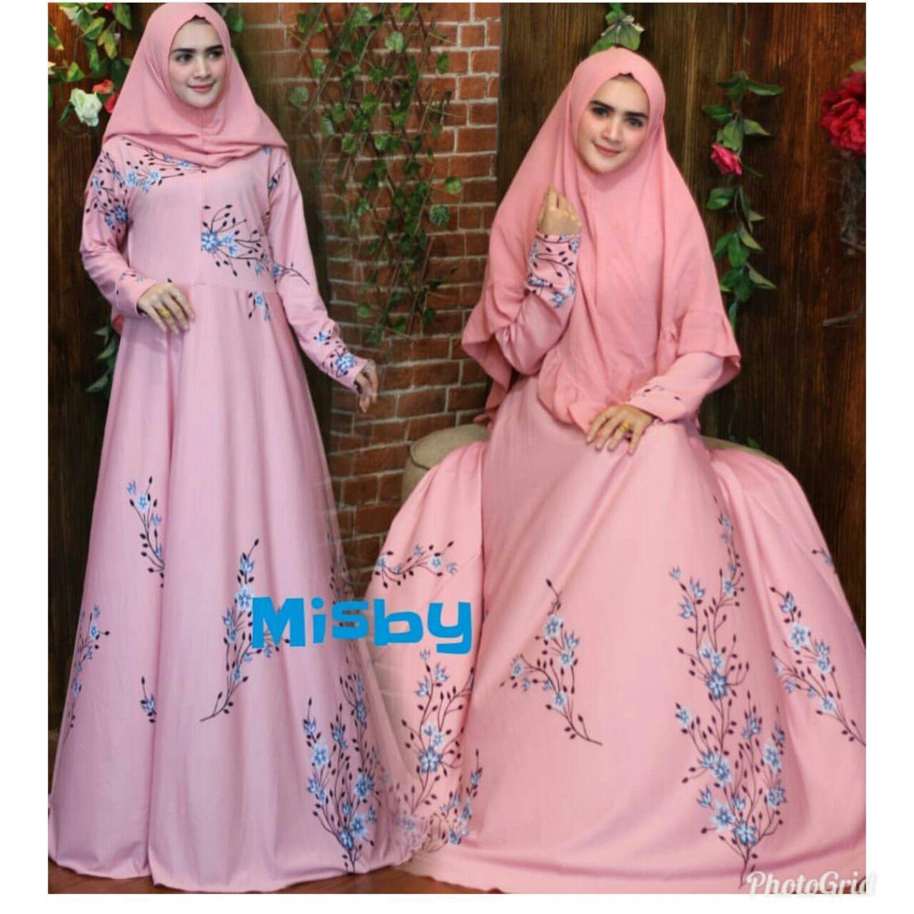 Nurulcollection-Baju gamis dress gaun muslim/gamis busui/gamis klok empat meter/Gamis murah/gamis motif/gamis polos/gamis terbaru