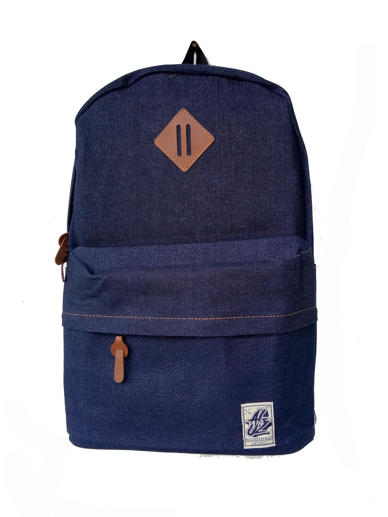 Aluz BPL2 Unisex Tas Ransel Backpack Best Seller -Laptop - Jeans - Murah & Ergonomi