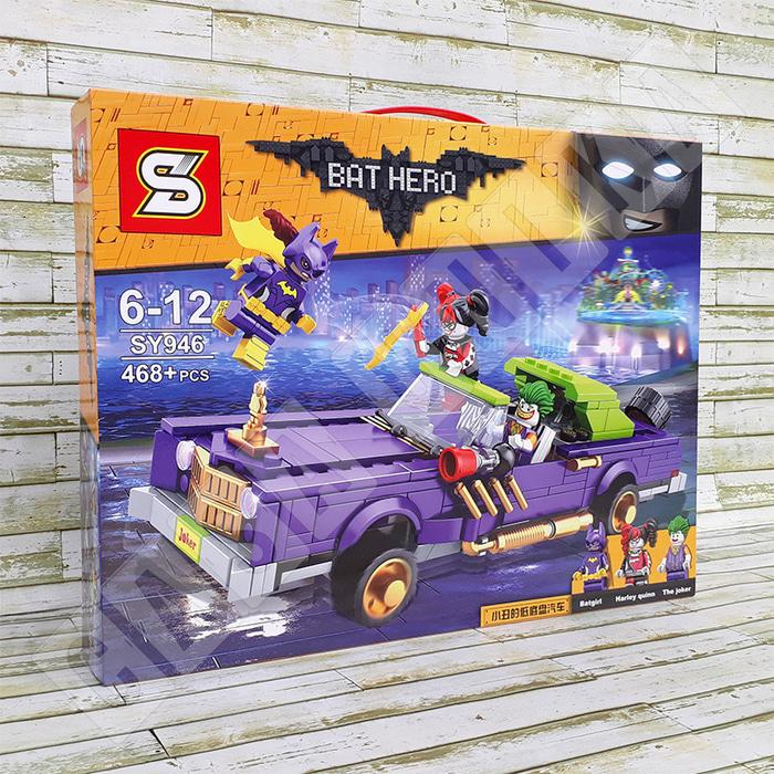 TERLARIS Joker Notorious Lowrider Car LEGO Batman Movie - Brick SY946 / SY 946