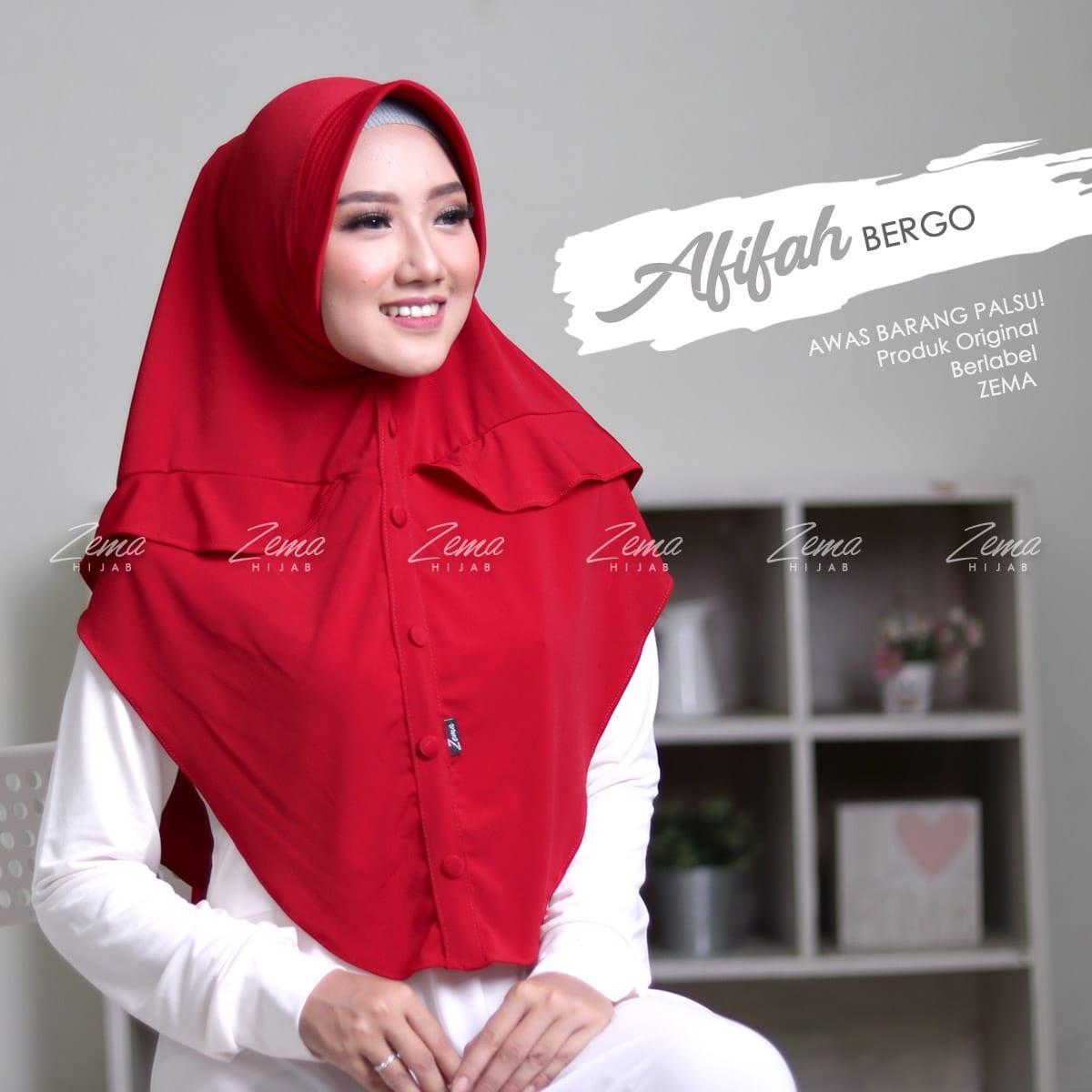 Zema Afifah Jilbab Instan