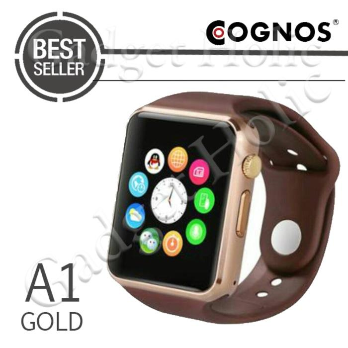 Cognos Smartwatch A1 - GSM TANPA BOX - Gold
