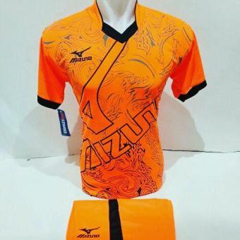 Harga preferensial [BEST SELLER MZ 19] Baju Volly Jersey Olahraga Futsal Kaos Bola Setelan