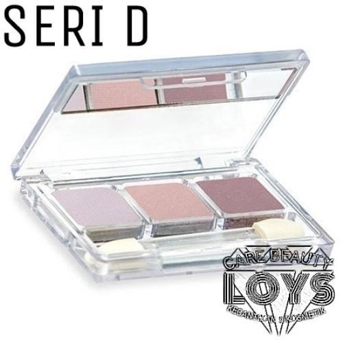 Wardah EyeShadow D - Eye Make Up Seri D
