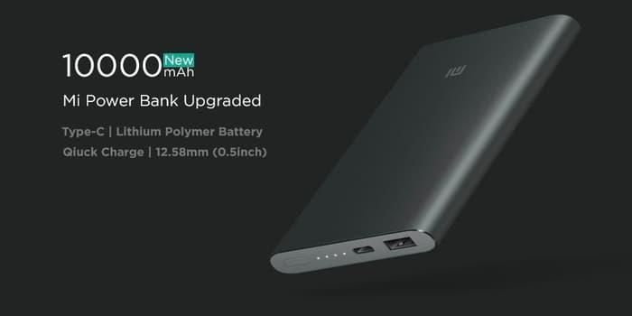 Xiaomi 10000mAh Mi Power Bank Pro Power Bank Terbaru - Aksesoris Handphone - Aksesoris Handphone Terlaris dan Murah - Power Bank Termurah - Power Bank Kualitas Terbaik - Alat Cas Handphone