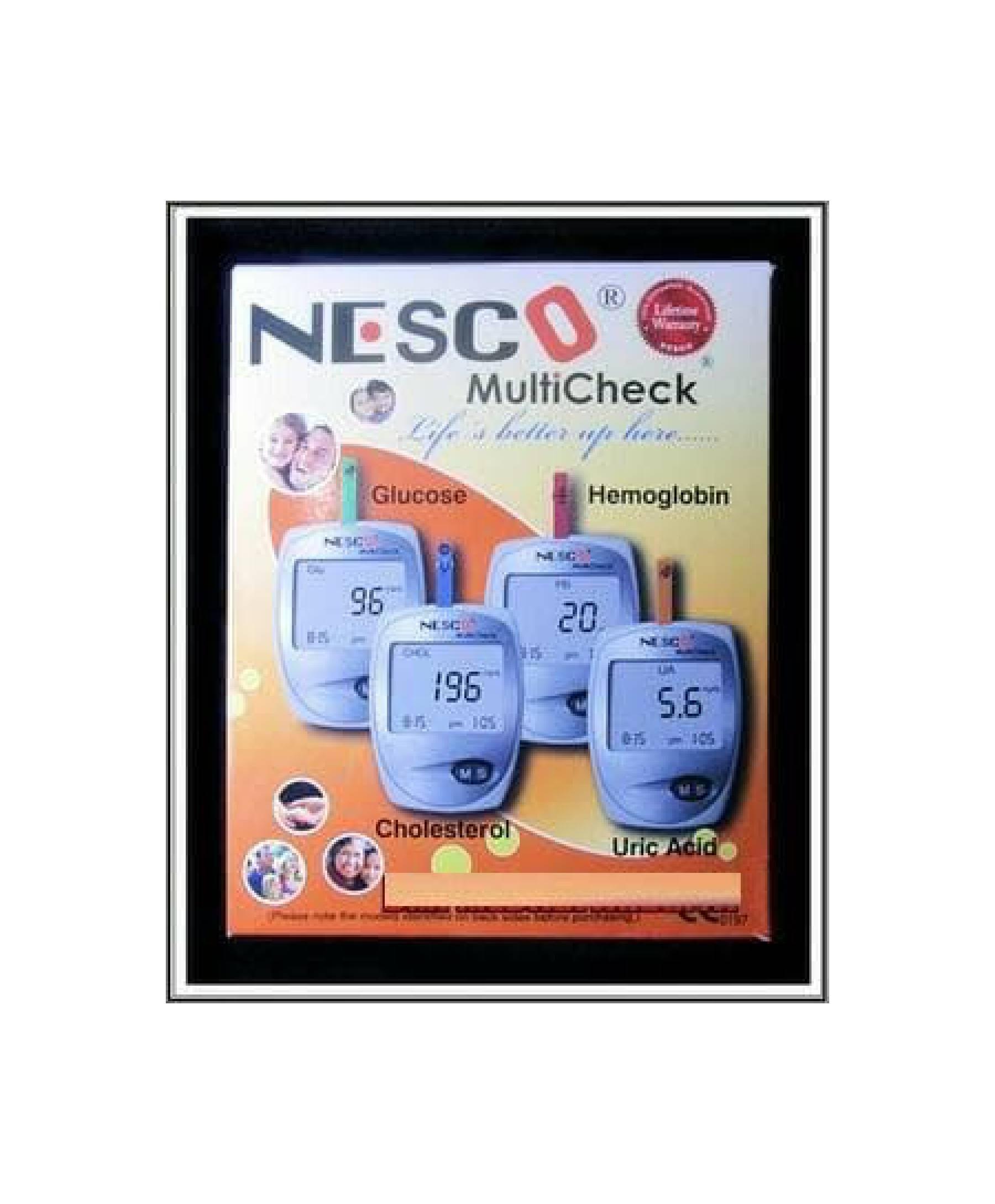 Buy Sell Cheapest Nesco Multi Check Best Quality Product Deals Blood Lancets Type 30g 3in 1kolestrolasam Uratgula Darah
