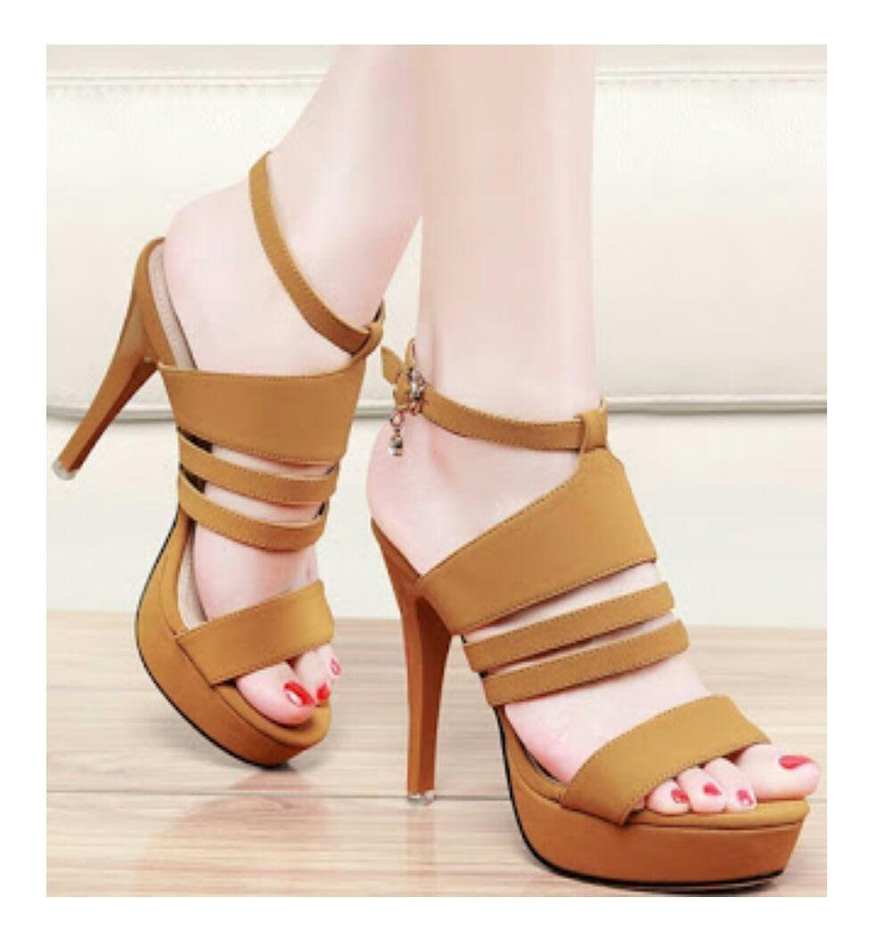 YM High Heel Wanita NS-03