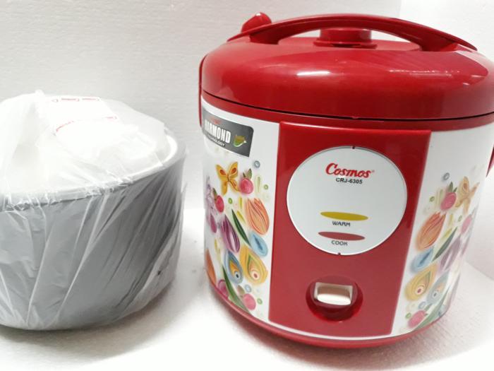 PROMO COSMOS Rice Cooker / Magic Com 2.0 Liter CRJ-6305 TERLARIS