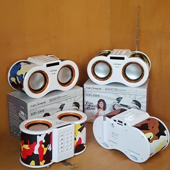 Advance TP-400 Portable Speaker Slot USB Micro SD TF Card TP400 - Speaker -  Audio -  Elektronik Terbaru - Speaker Aktif - Best Seller - Speaker Usb  - Speaker Laptop - Speaker Murah - Speaker Portabel