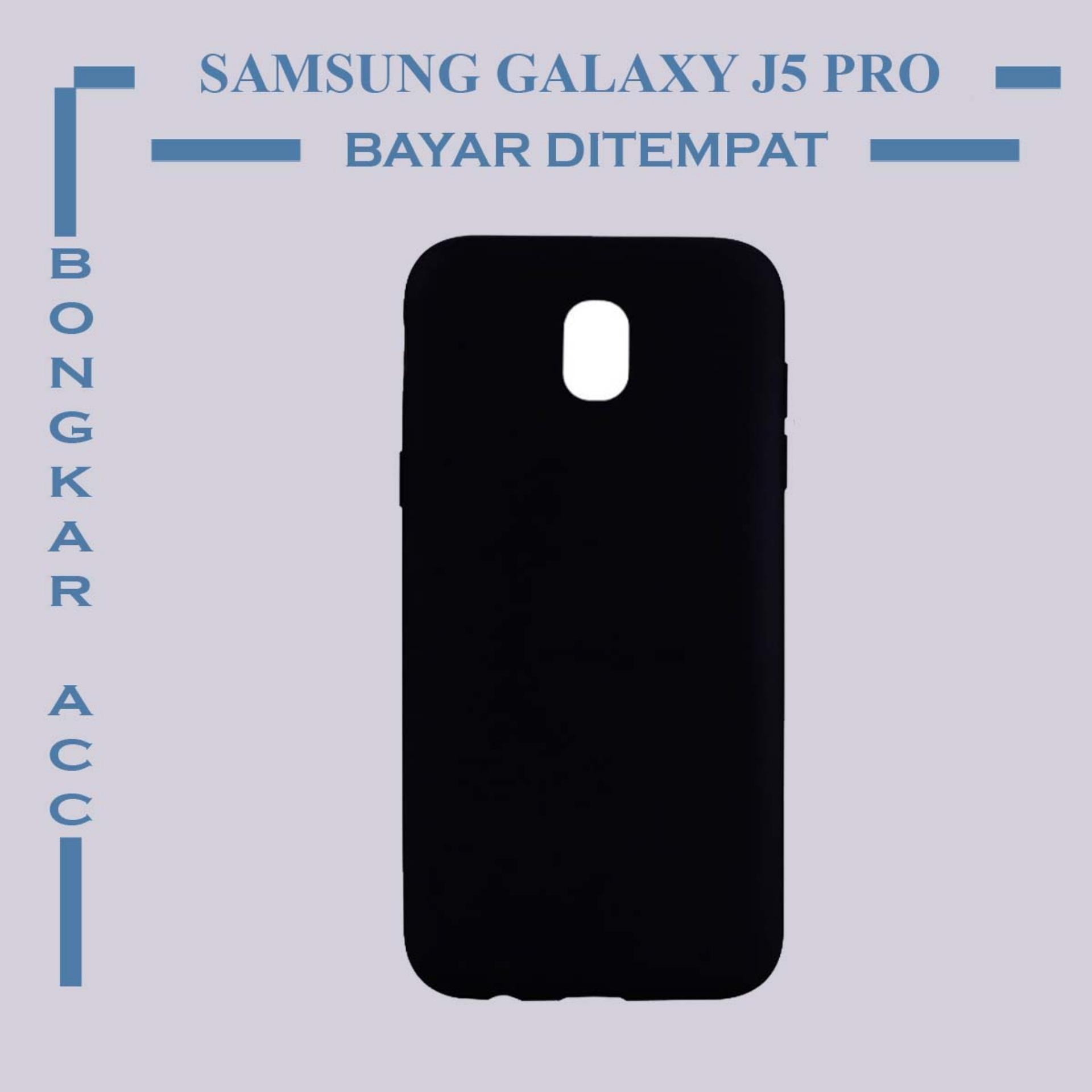Samsung Galaxy J5 Pro Casing Hp Black Matte Ultraslim Shockproof Black Color Casing Hp Black Matte Samsung Galaxy J5 Pro Ultraslim Hitam Polos
