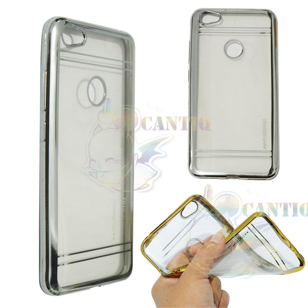 Motomo Chrome Soft Case Xiaomi Redmi Note 5A / Silikon Xiaomi Redmi Note 5A Shining Chrome / Tpu Jelly Ultrathin Xiaomi Redmi Note 5A Ring Glossy / Sofshell ...