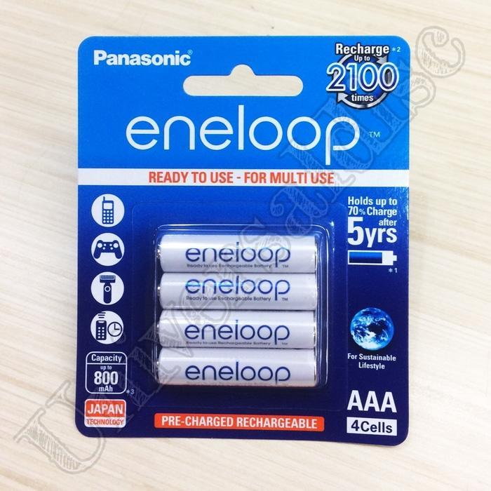 New Produk Baterai Eneloop Panasonic AAA 800mAh isi 4pcs