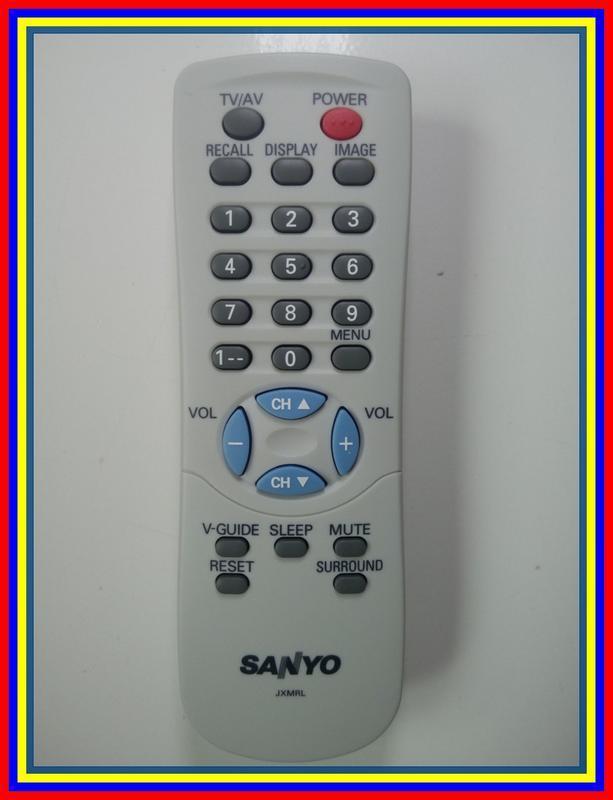 Remot Remote TV Tabung Sanyo Jxmrl Ori Original Asli