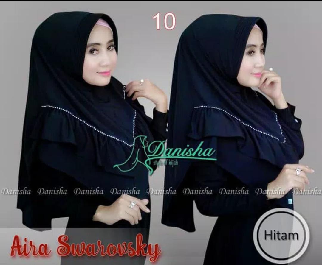 Hijab/ Jilbab Instant Aira Swarovsky  By Danisha umadera