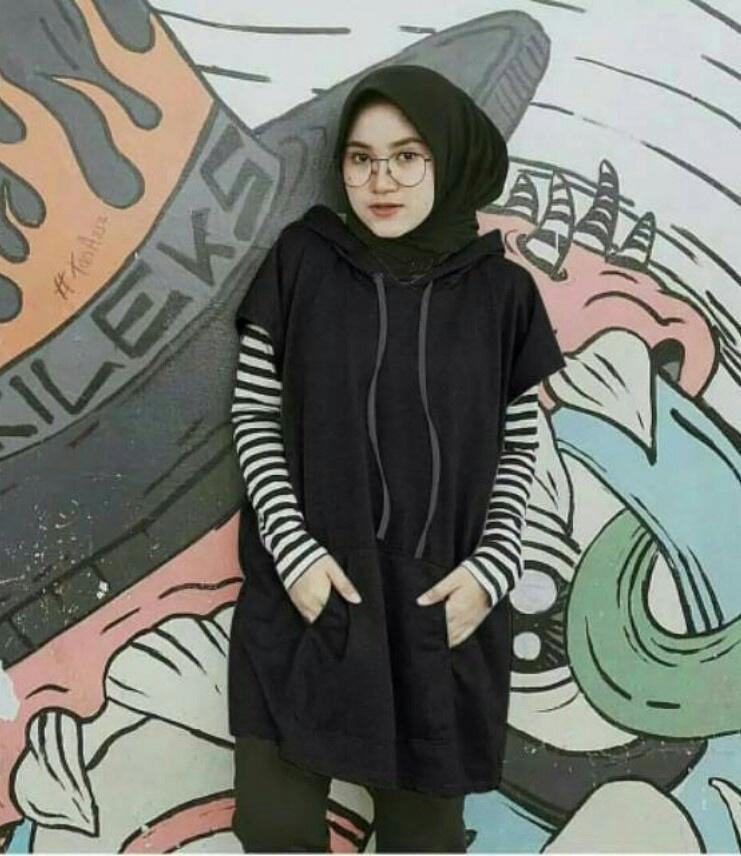 J&C Sabyan Hoodie / Sweater Wanita / Sweater Panjang / Outer Wanita / Jaket Wanita /