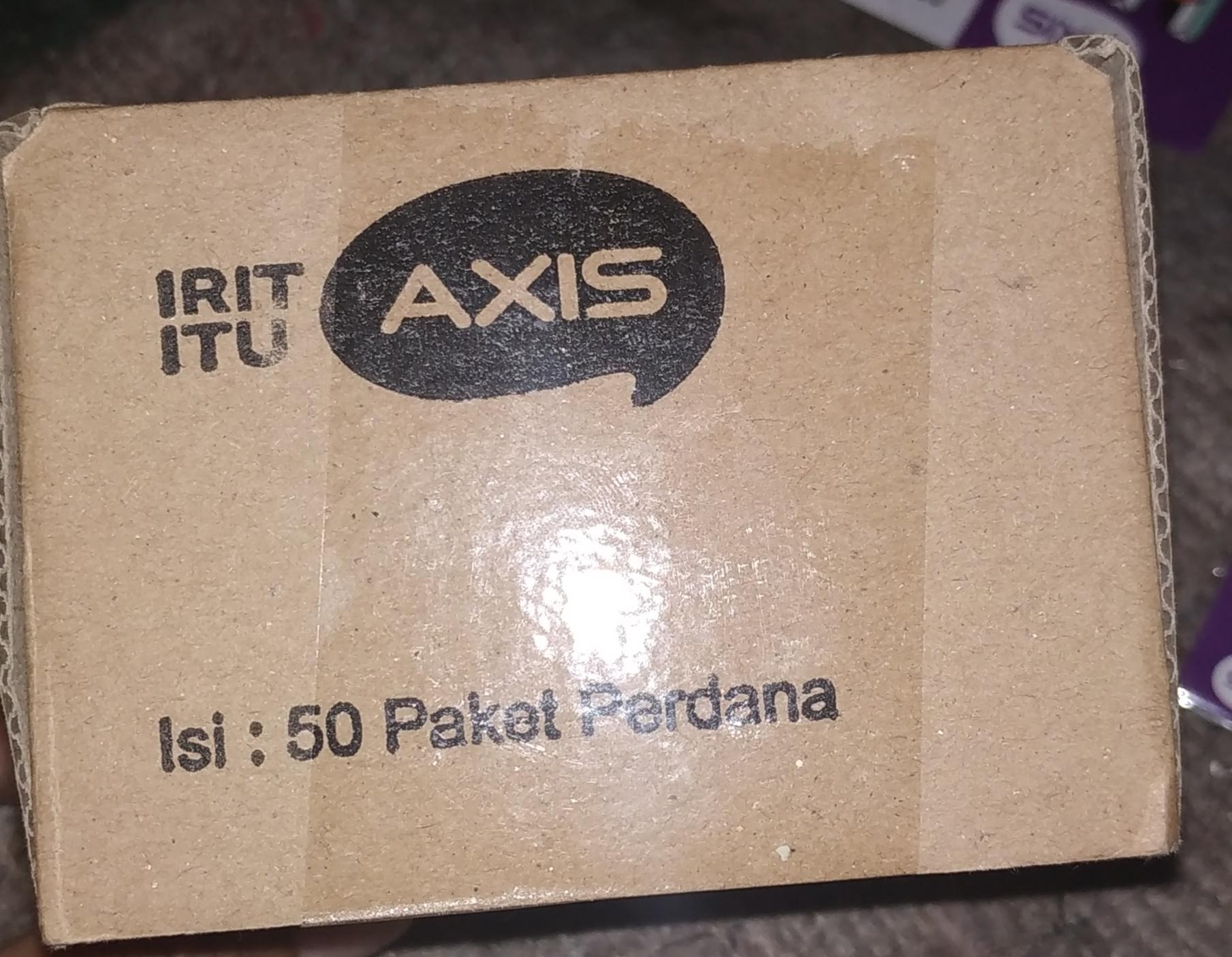 Jual Aksesoris Gadget Aplikasi Lazada Perdana Axis Tombel Kartu Nasional