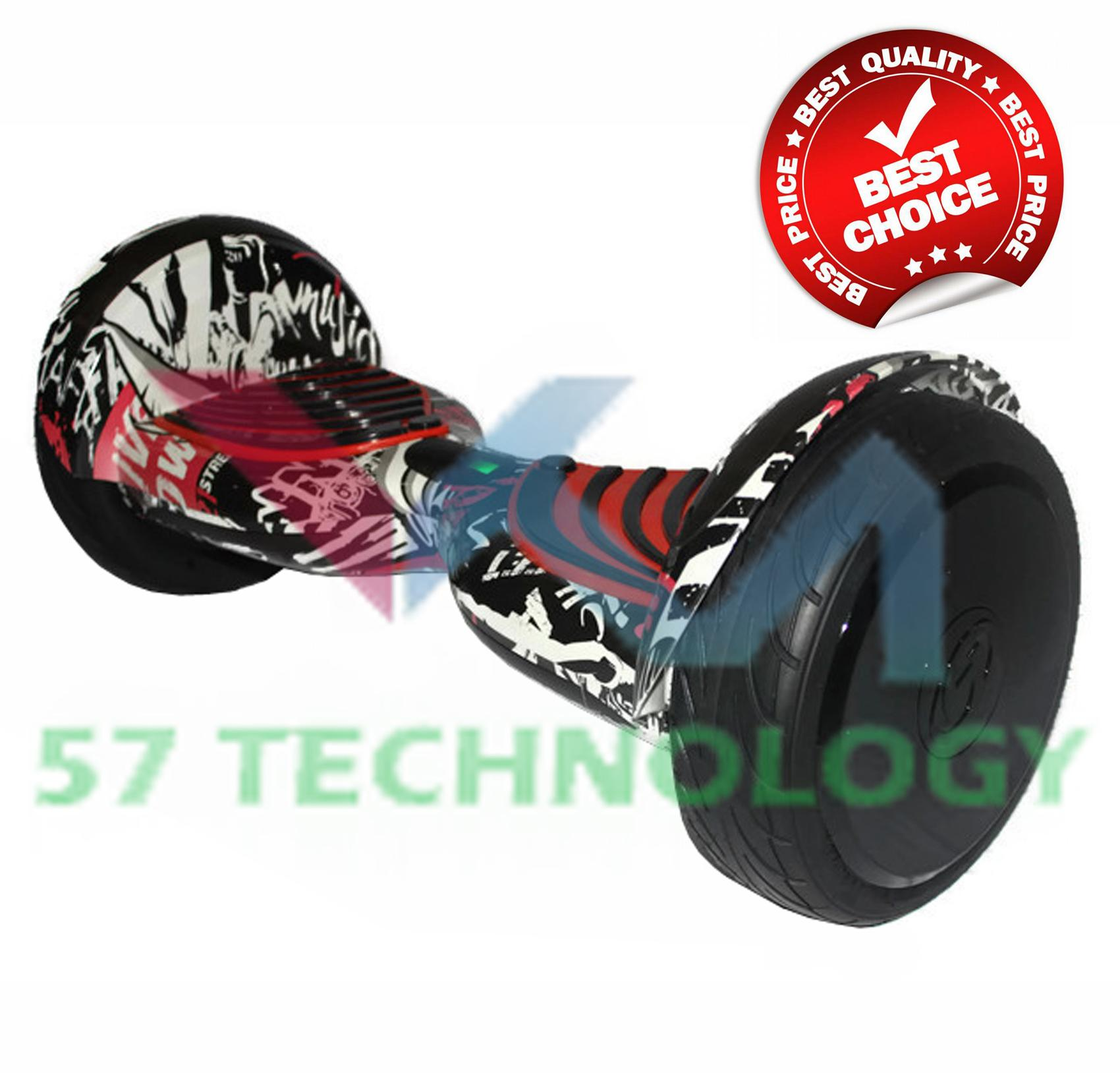 Smart Balance Wheels 10 Inch (black Graffiti) By 57 Technology.