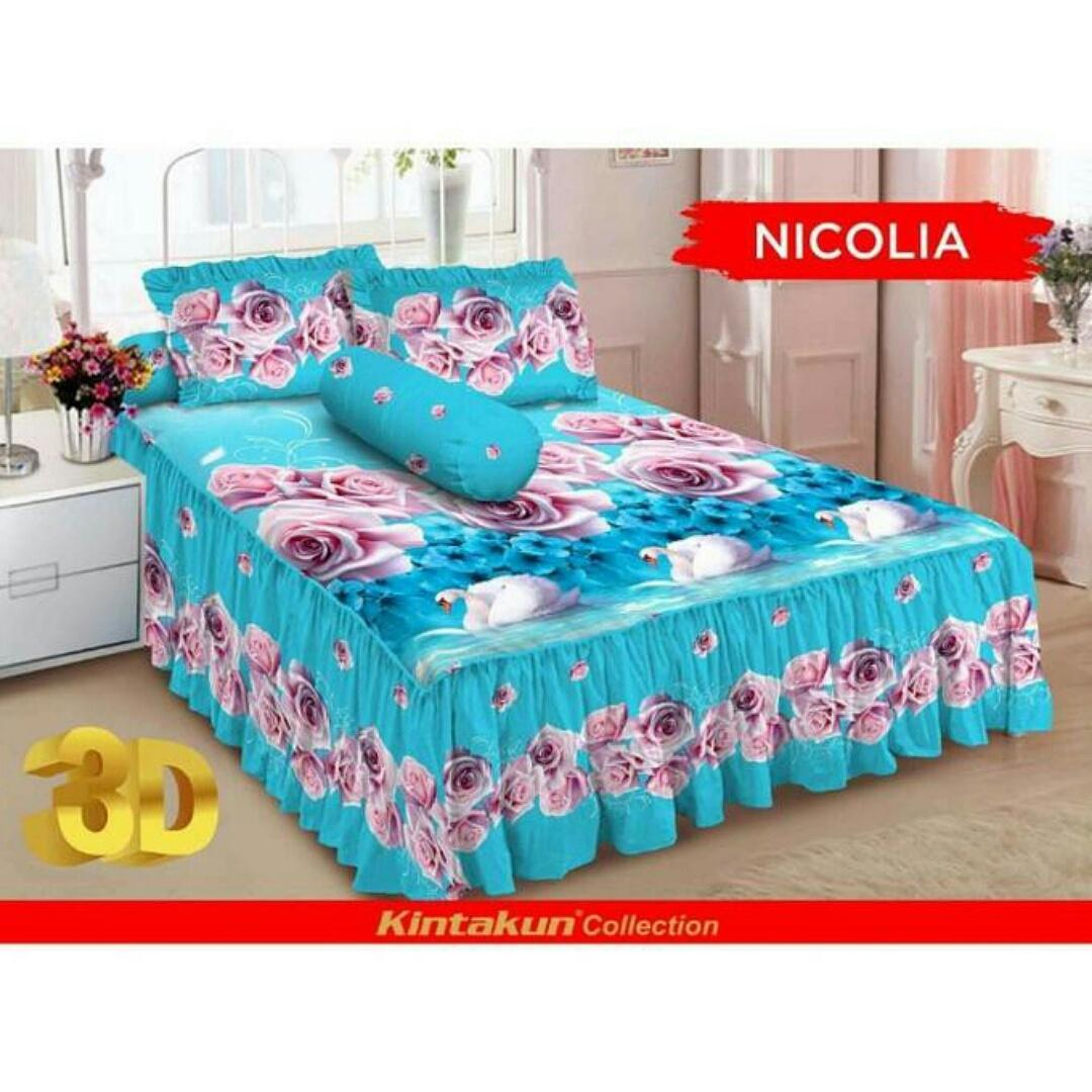 Buy Sell Cheapest Kintakun D Luxe Best Quality Product Deals Sprei Rumbai Dluxe Uk 180 Logan Size King 180x200 No 1