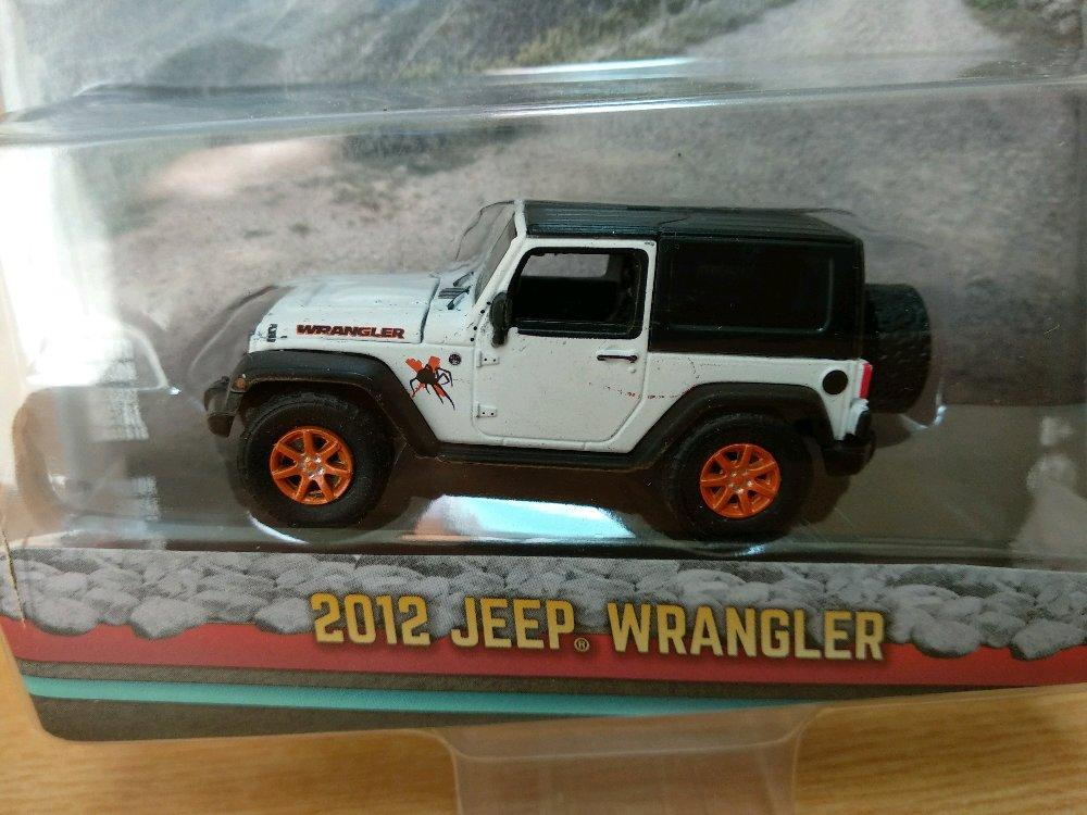 Jeep Wrangler White 2012 Greenlight All Terrain # Favorit Toys favorit_toys