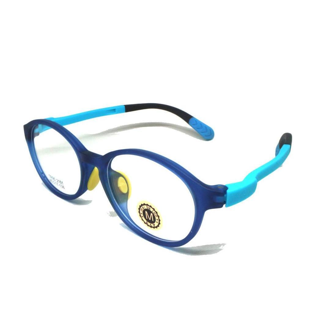 Frame Kaca Mata Anak Biru 2101 By Cek Toko Sebelah-.