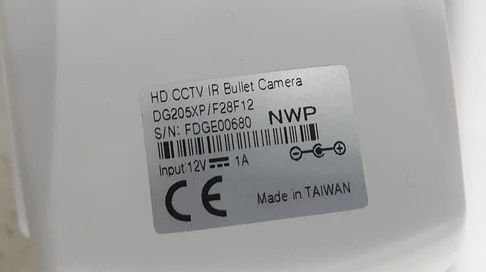 PROMO!!!  CCTV AVTECH DG205XP HD CCTV TVI 1080P Vari-focal IR Bullet Camera