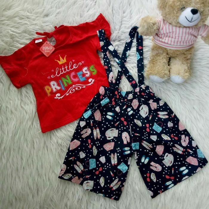 Setelan Jumpsuit Baju Bayi Anak - Jumpsuit Little Princess