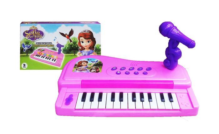 Mainan alat musik ELECTRONIC ORGAN SOFIA THE FIRST - 888-4