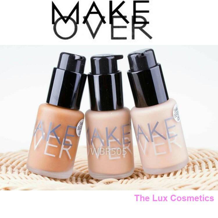 MAKEOVER Matt Foundation 33ml 03 Nude Silk