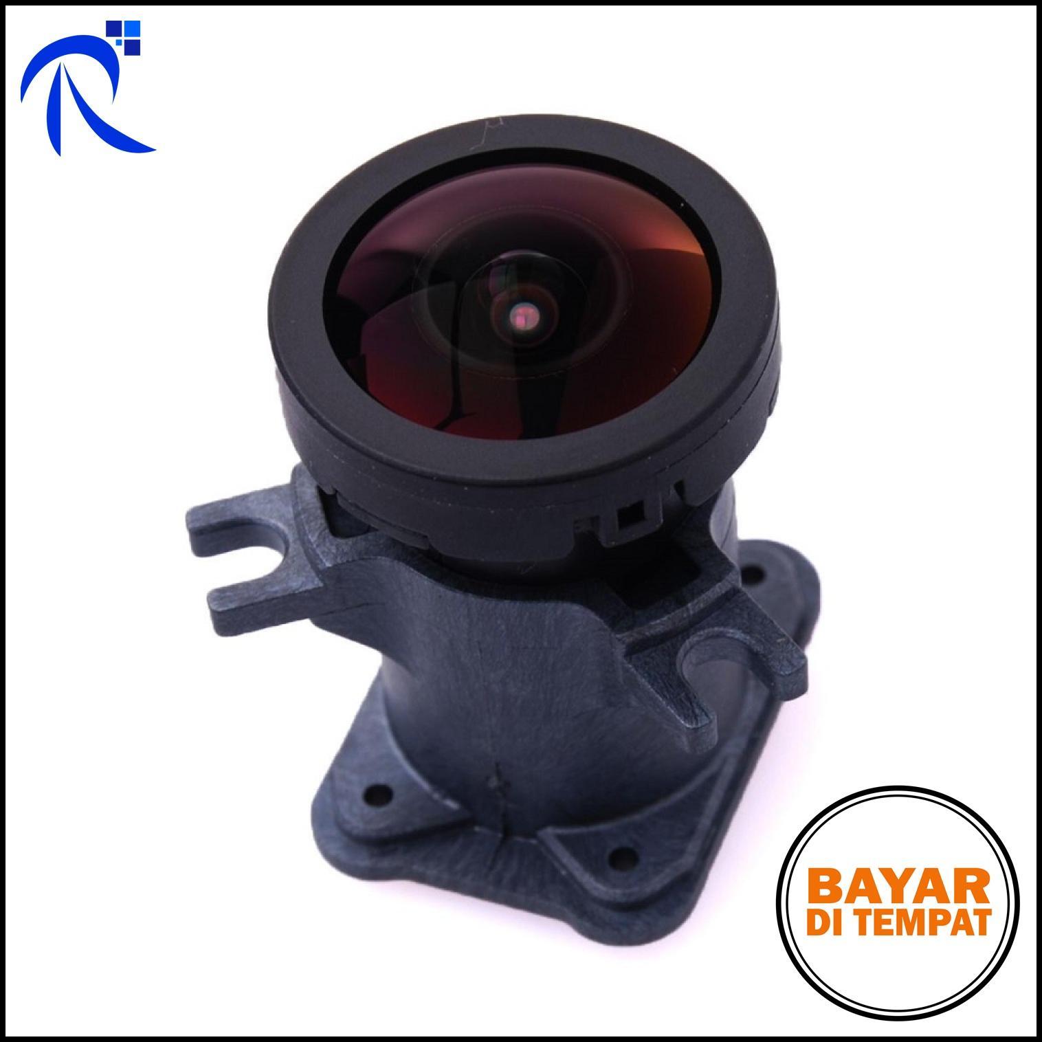 GoPro Lensa Replacement 1600W 170 Degree Wide Angle For Gopro Hero 3/3+/4 - Black / Hitam Lensa Pengganti Rusak Jangkauan pandang Jauh Berkualitas BISA COD !!
