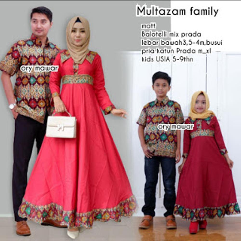 Fufuclothes - Couple Kebaya Keluarga / Sarimbit Family + 2 Anak