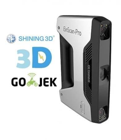 Industrial Grade 3D Scanner Einscan Pro Kualitas Terbaik