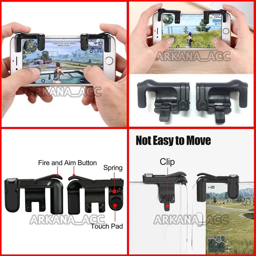 Universal Tombol Trigger L1 R1 / L1 R1 Trigger Button Smartphone / Trigger Fire Button L1 R1 / Trig